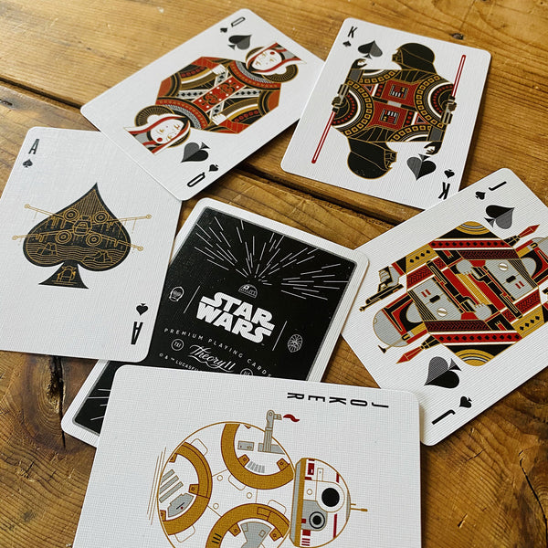 STAR WARS - SILVER & COLORS EDITIONS - 4 Playing Cards Decks