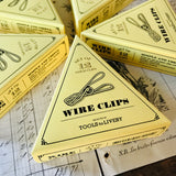 12 Wire Clip - Gold - MR CUP
