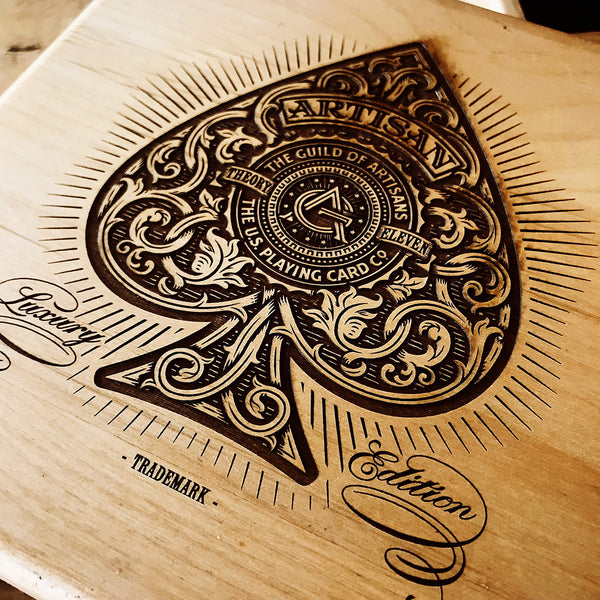 Artisan Luxury Edition Wood Box with 4 decks - MR CUP