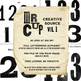 Mr Cup Creative Source . Vol 1 - MR CUP