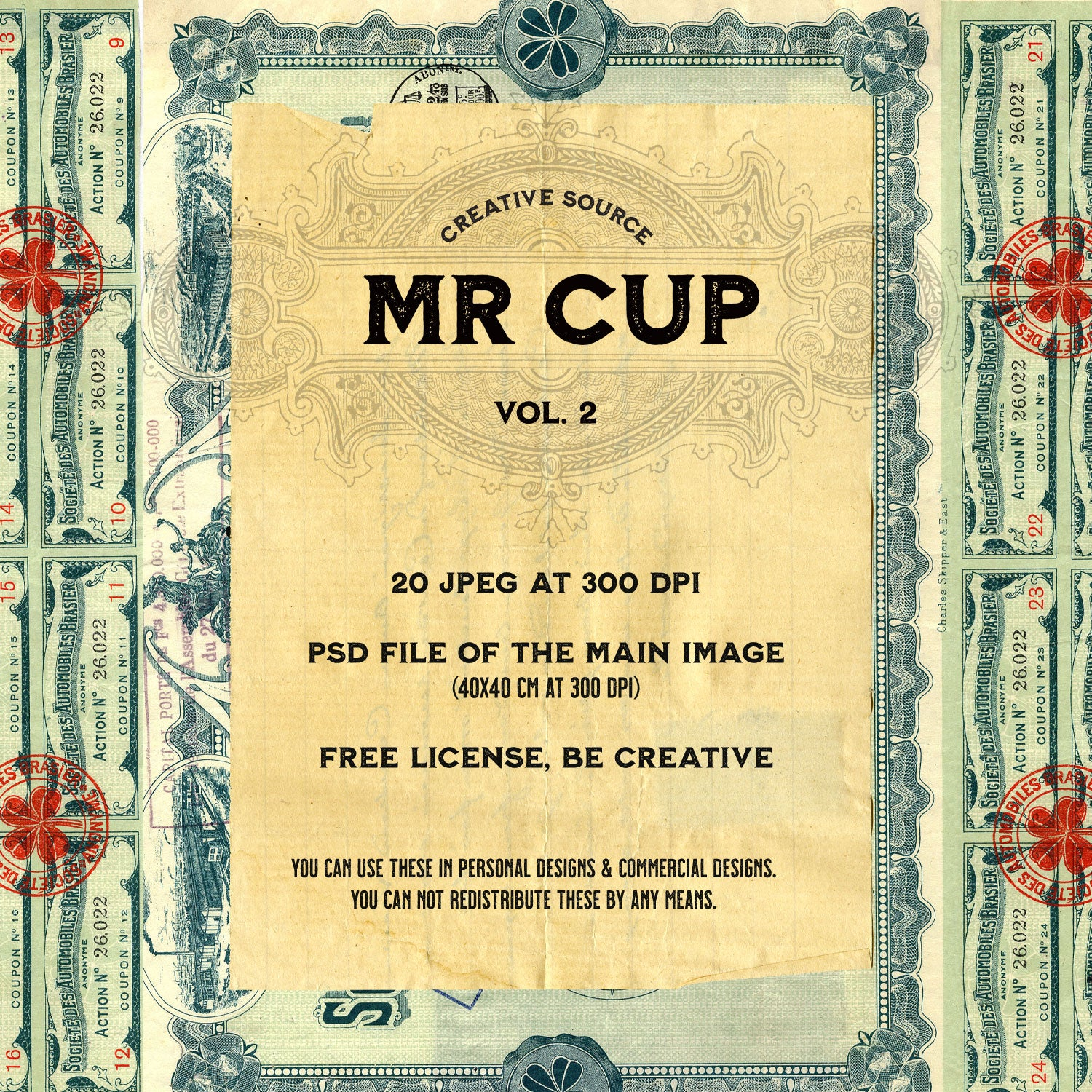 Mr Cup Creative Source . Vol 2 - MR CUP