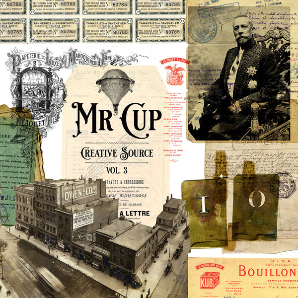 Mr Cup Creative Source . Vol 3 - MR CUP