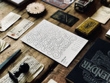 2018 Letterpress CALENDAR DELUXE EDITION - MR CUP