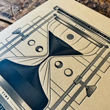 2020 letterpress calendar Artist's proof 06 - MR CUP