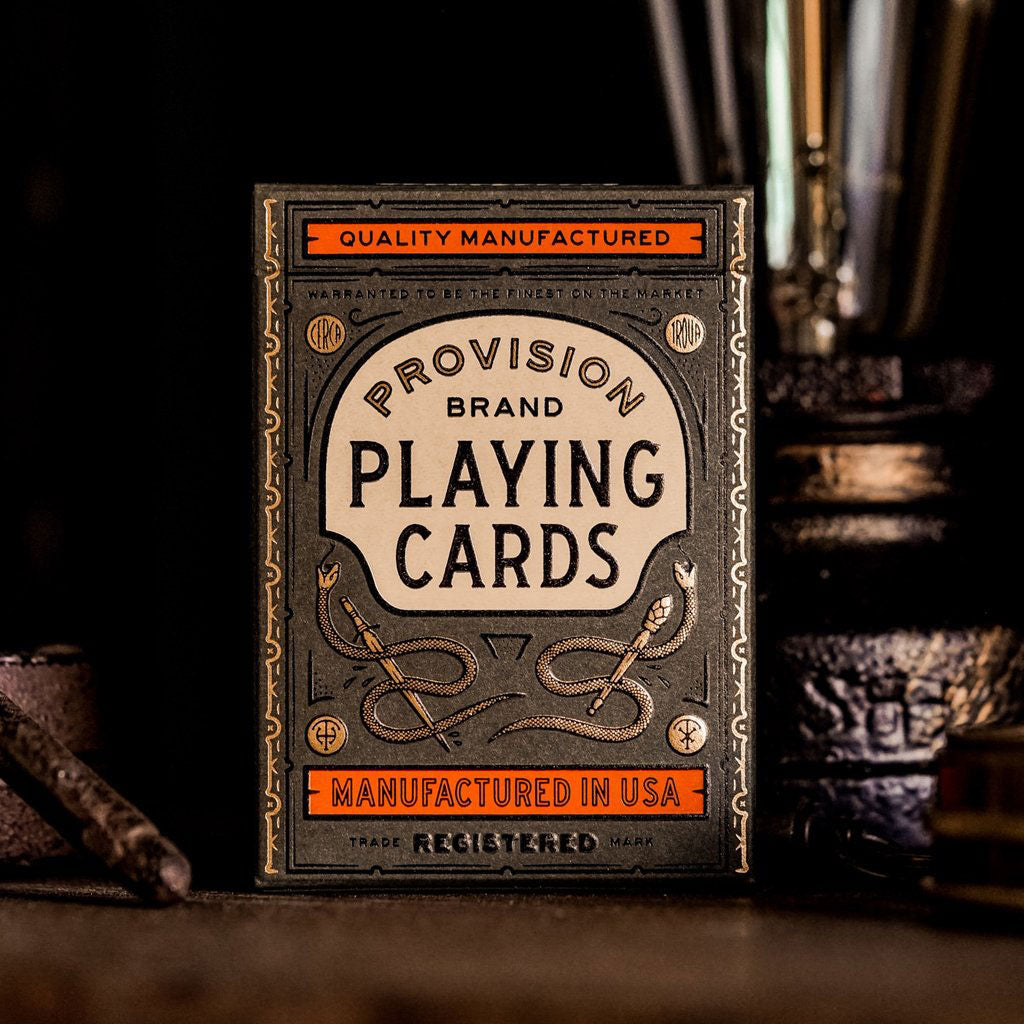 PROVISION Playing Cards Deck - MR CUP