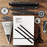 ARCHIWHITE sketchbook & tools set