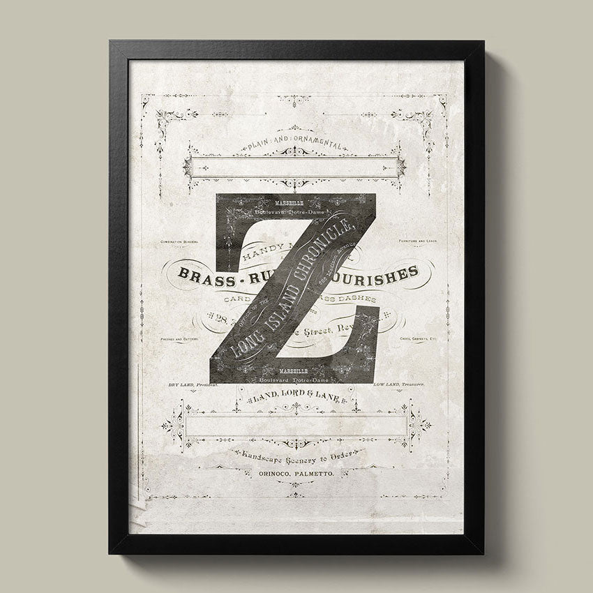 Z - Poster - 30x40 - MR CUP