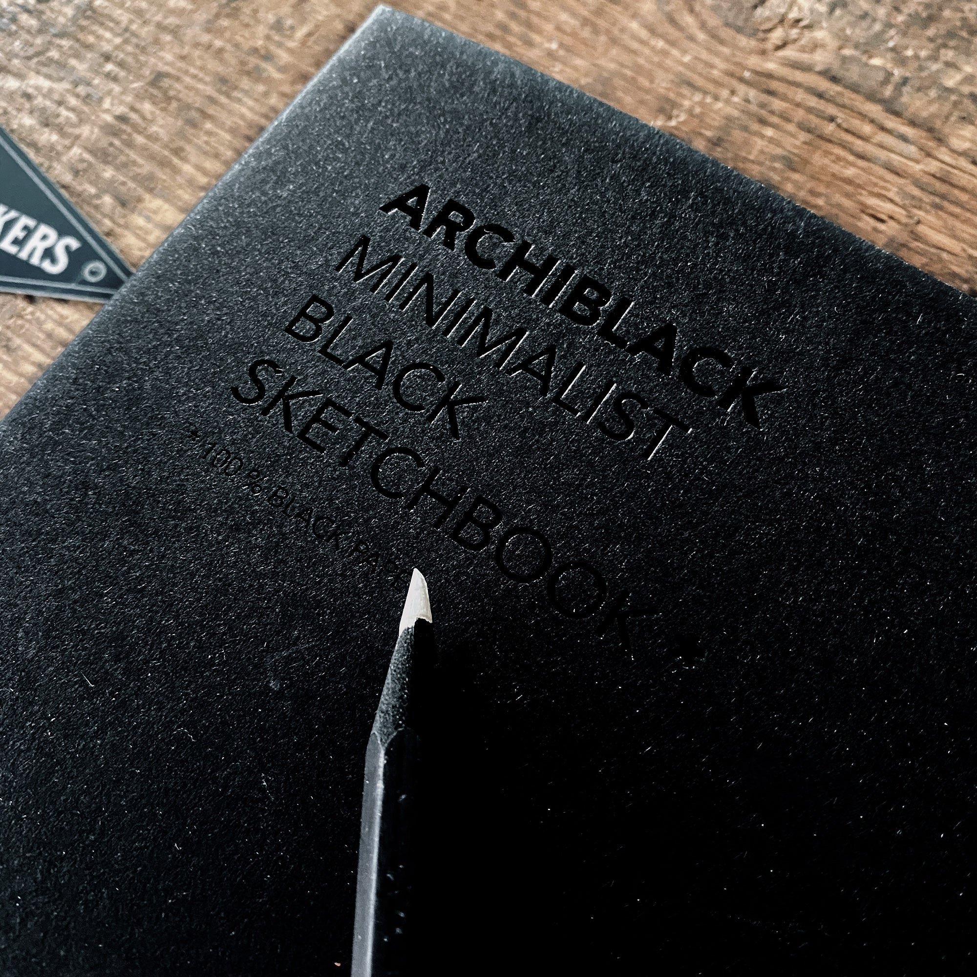 ARCHIBLACK - Black Sketchbook
