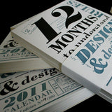 <h7>SOLD-OUT</h7><br>2011 Letterpress calendar
