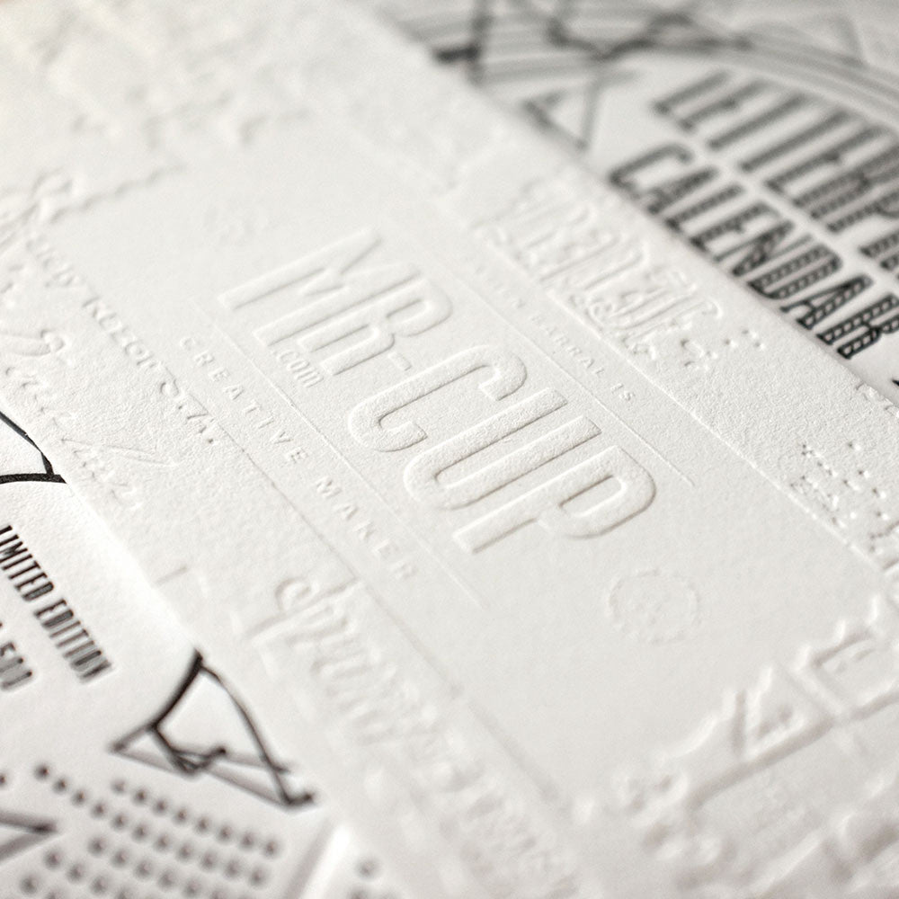<h7>SOLD-OUT</h7><br>2016 Letterpress calendar normal edition