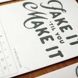 2016 Letterpress calendar normal edition - MR CUP