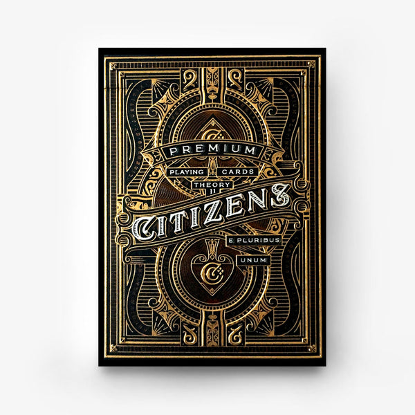 CITIZENS playing cards deck