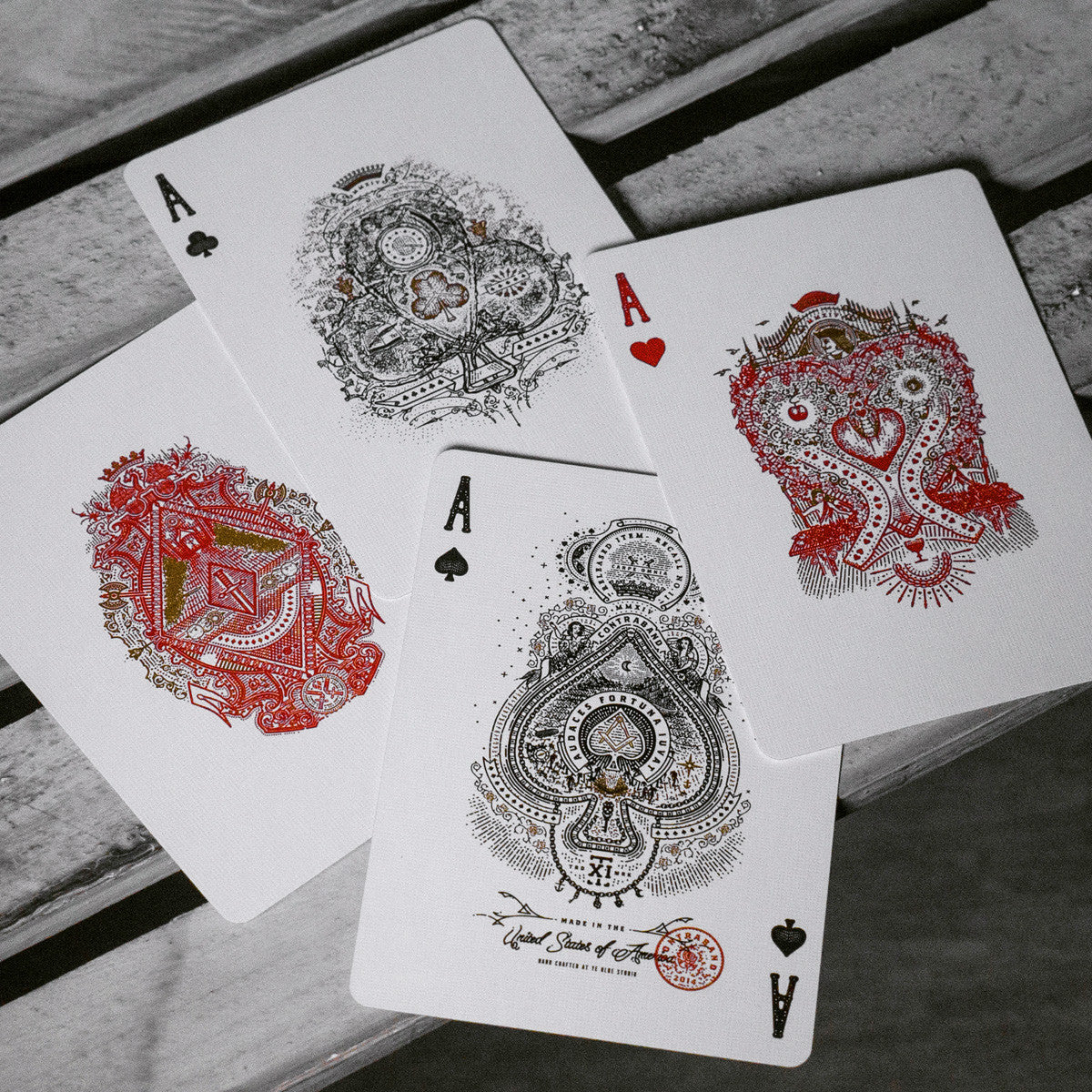 CONTRABAND playing cards deck - MR CUP
