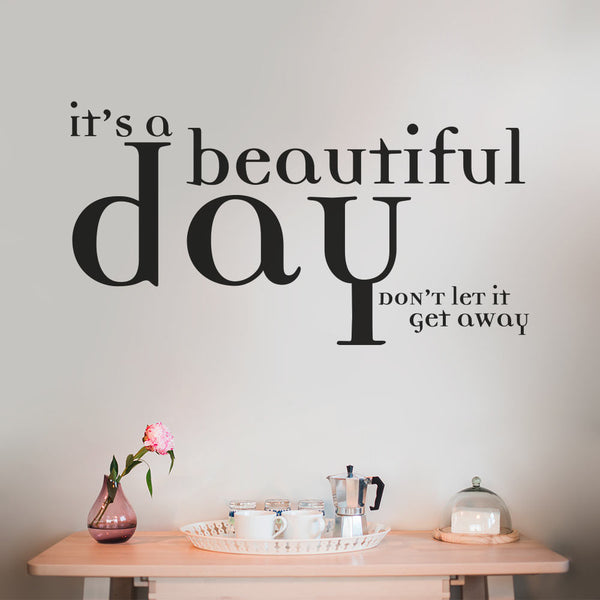 It's a beautiful day - MR CUP