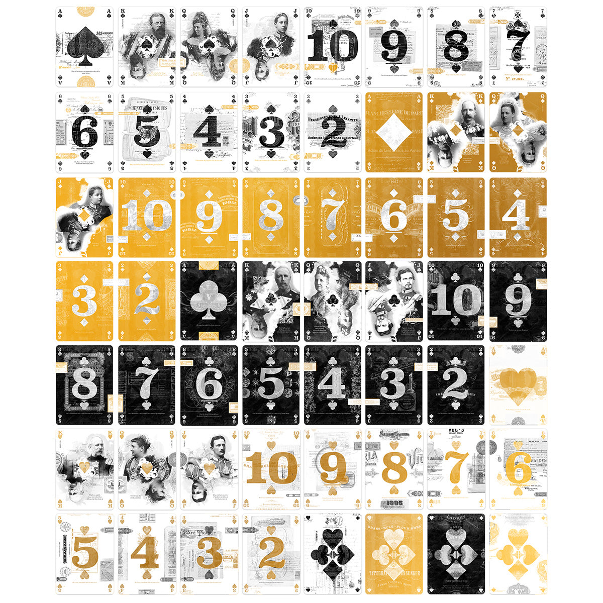 EPHEMERID playings cards - GOLD edition - MR CUP