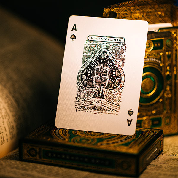 HIGH VICTORIAN playing cards deck