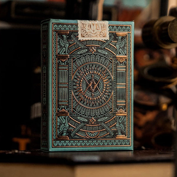 HUDSON GREEN playing cards deck - MR CUP