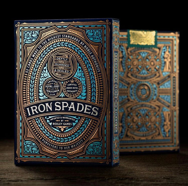 IRON SPADES playing cards deck