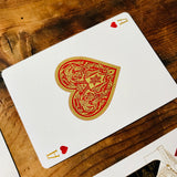 STANDARDS RED & BLACK Playing Cards Deck - MR CUP