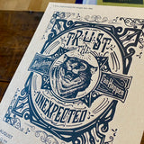 2018 letterpress calendar Artist's proof 08