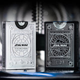 STAR WARS - SILVER EDITION - 2 Playing Cards Decks