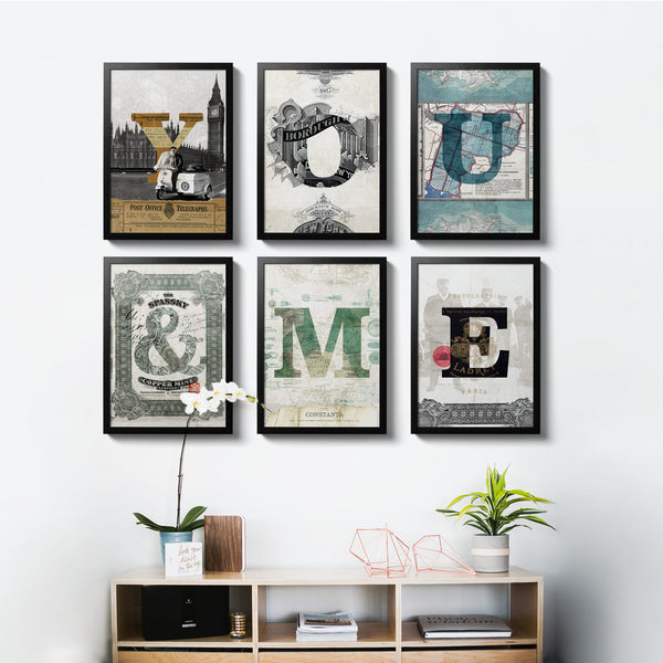 6 Ephemera Posters - 30x40 - MR CUP