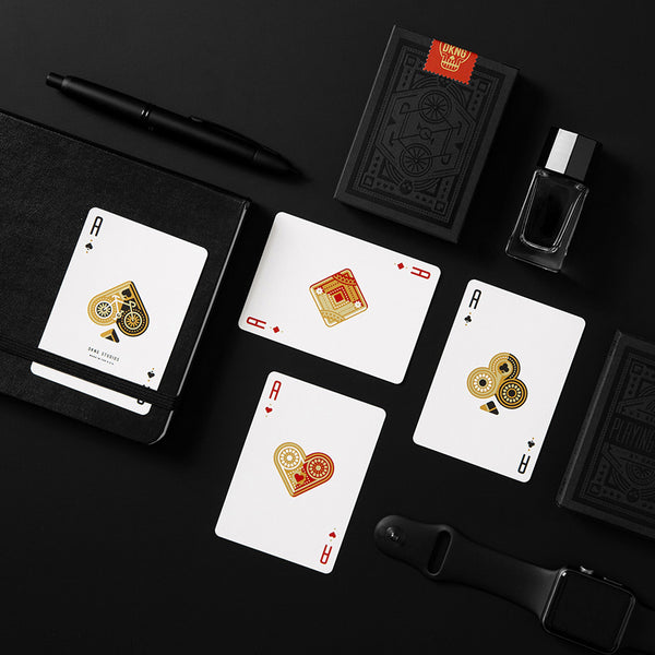 DKNG BLACK WHEELS playing cards deck - MR CUP