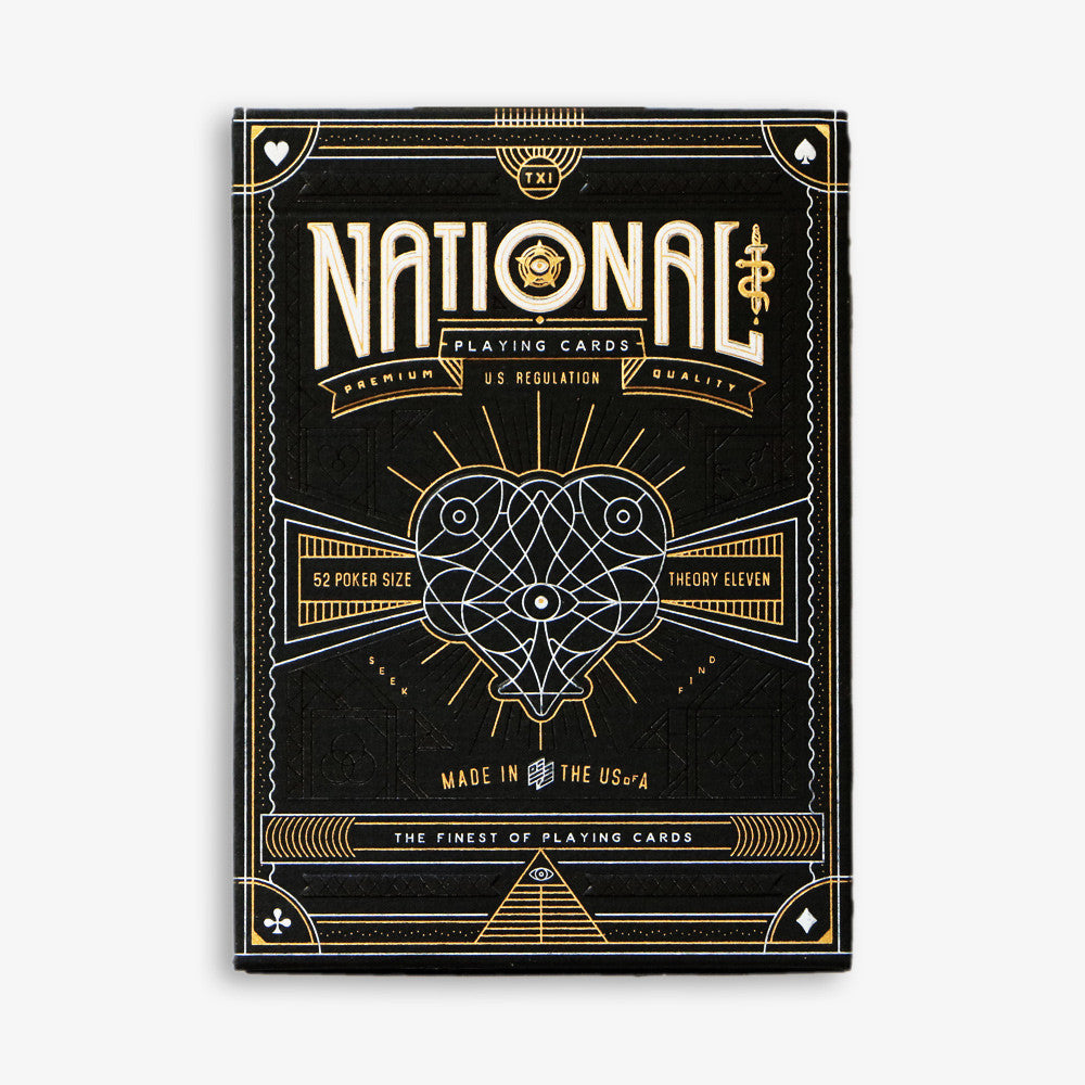 NATIONAL playing cards deck - MR CUP