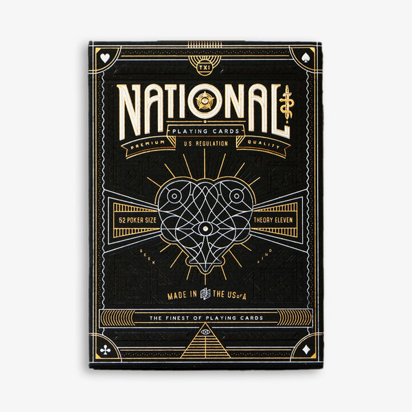 NATIONAL playing cards deck