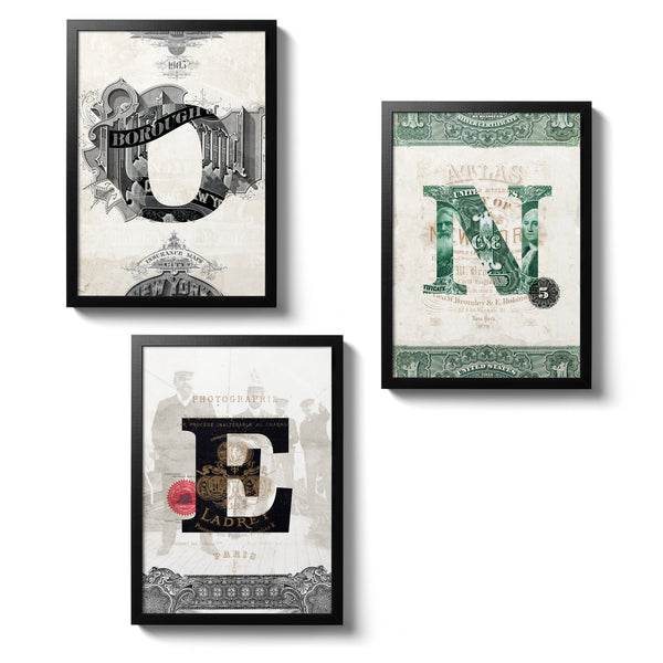 3 Ephemera Posters - 30x40 - MR CUP