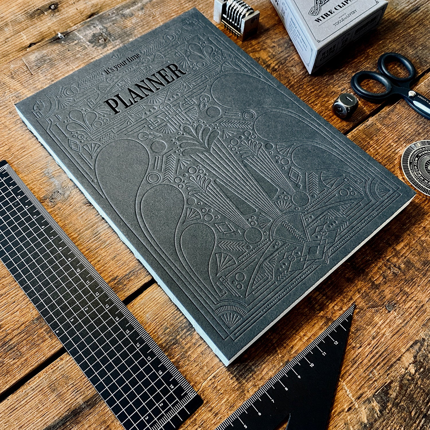 Sketchbook & Planner - Dark edition
