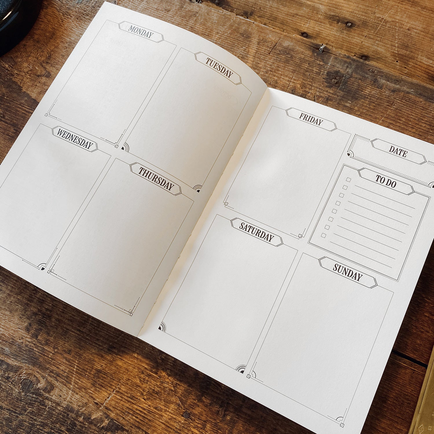 Sketchbook & Planner - White edition