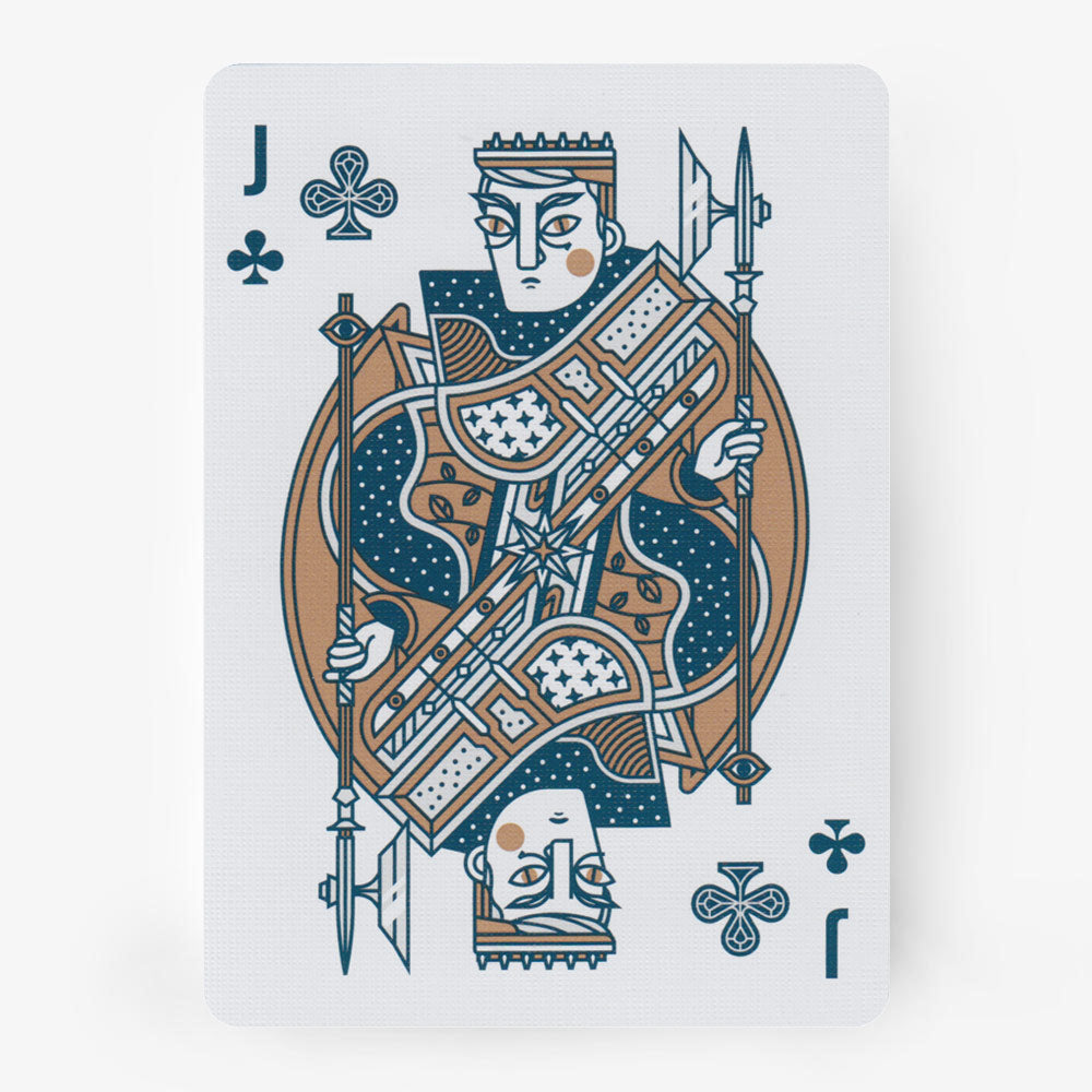 SEEKERS playing cards deck - MR CUP