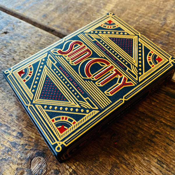 SIN CITY playing cards deck