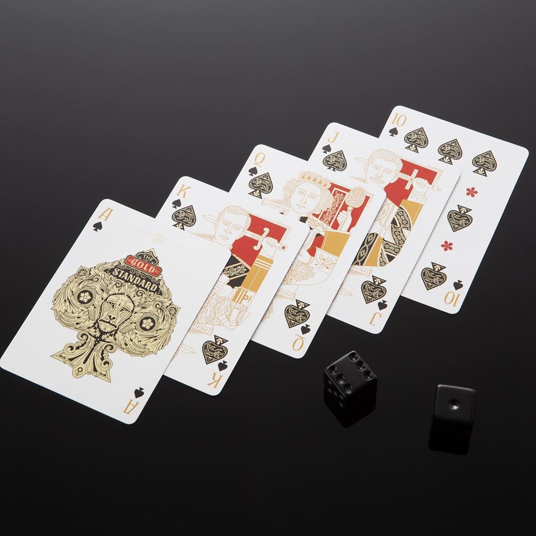 STANDARDS BLACK Playing Cards Deck - MR CUP