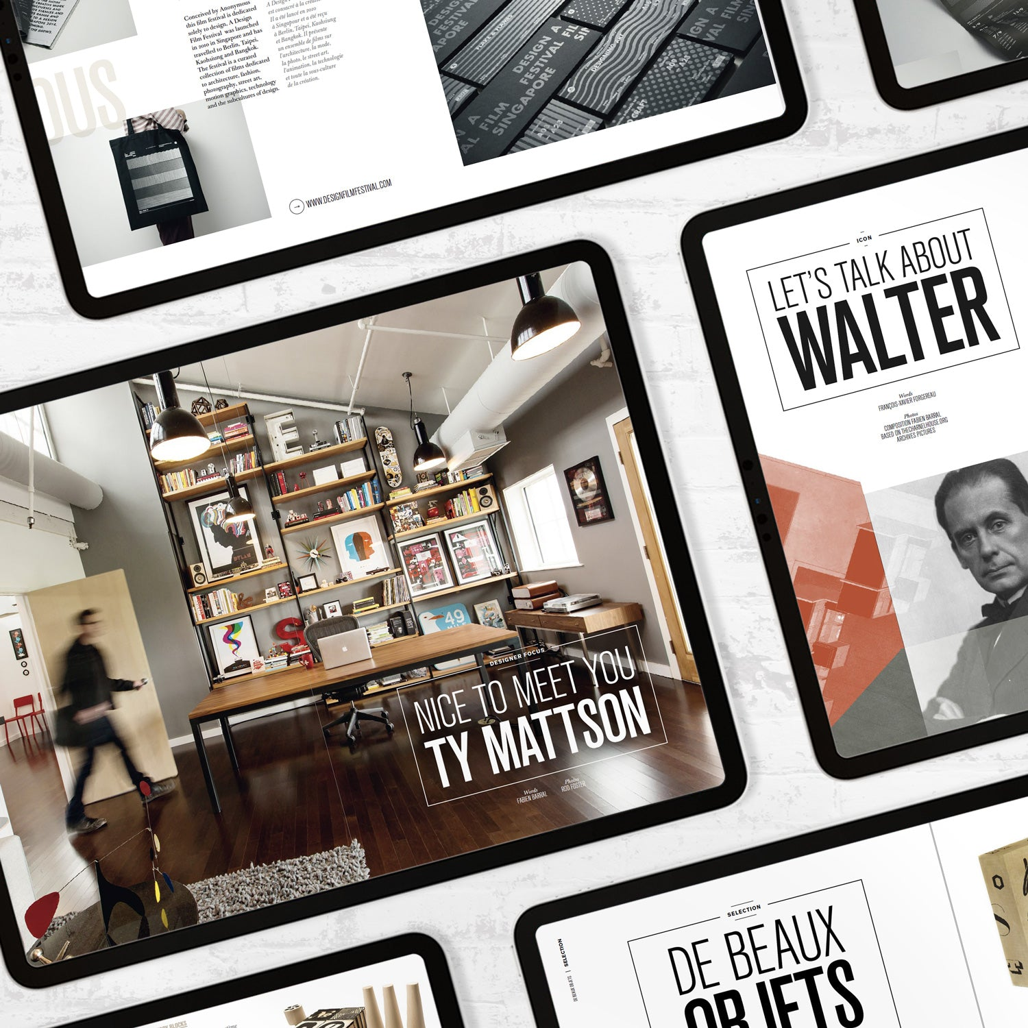 Walter magazine vol. 01 & 02 - digital - MR CUP