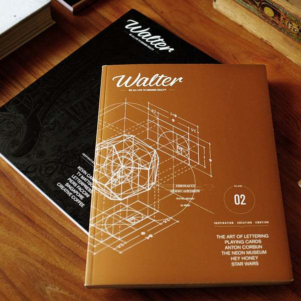 Walter magazine vol. 1 & 2 - MR CUP