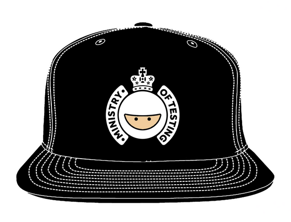 Ministry of Testing Cap - LOCAL PICKUP