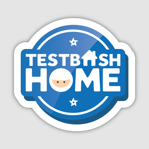 TestBash Home Sticker x1