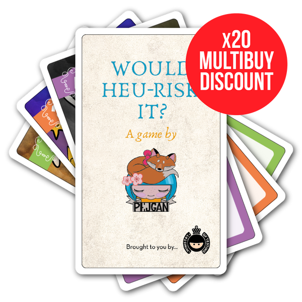 Would Heu-Risk It? - Single Deck x20 Multibuy