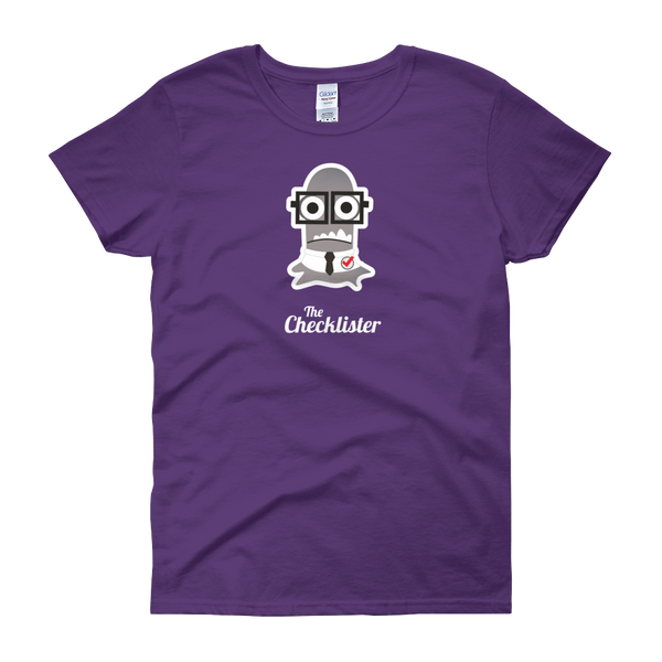 T-Shirt - Testers Types - Checklister - Women's