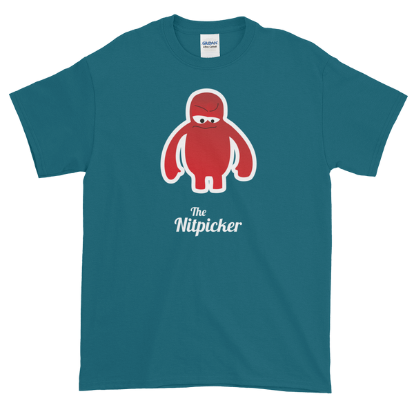 T-Shirt - Testers Types - Nitpicker - Men's