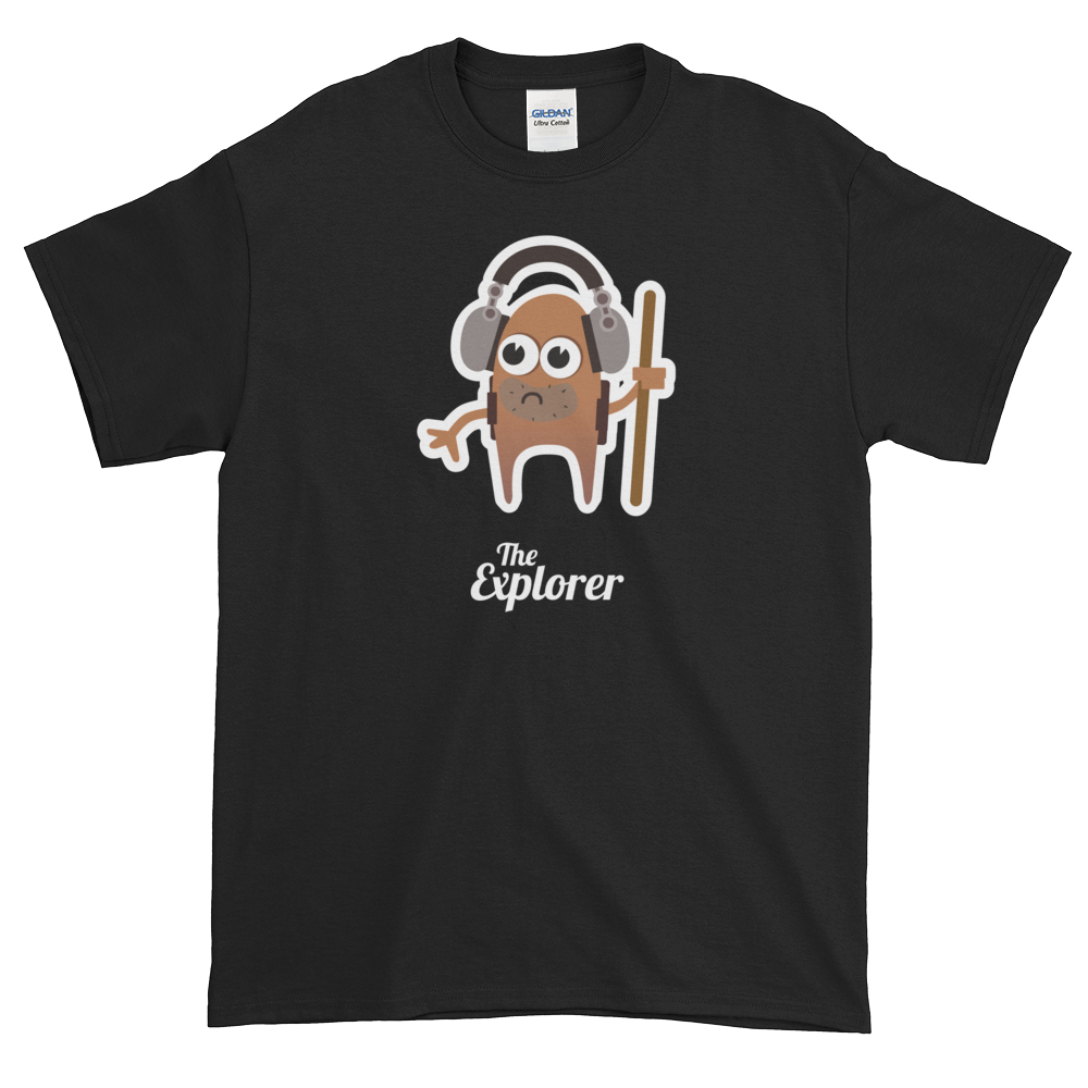 T-Shirt - Testers Types - Explorer - Men's