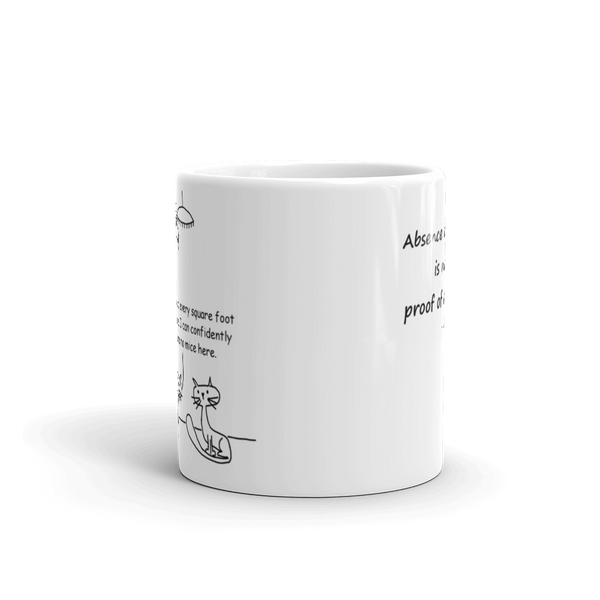 Absence of Proof Mug by Andy Glover