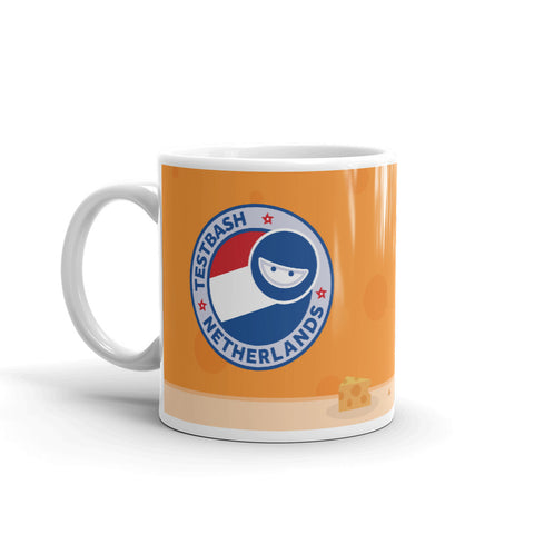 TestBash New Netherlands 'Cheese' Mug