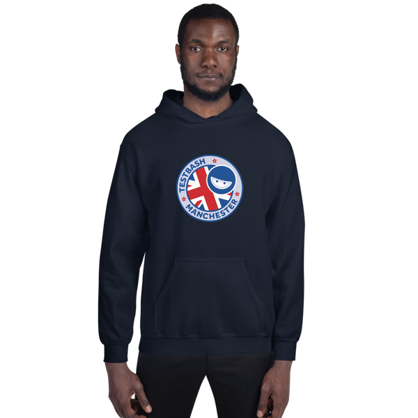 Unisex Hoodie - TestBash Manchester - Various Colours
