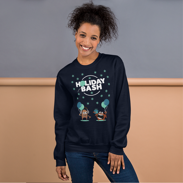 HolidayBash Monsters Unisex Sweatshirt
