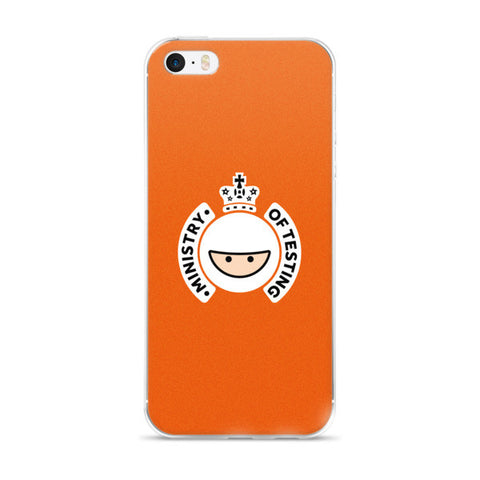 iPhone 5 / 6 Case - Orange