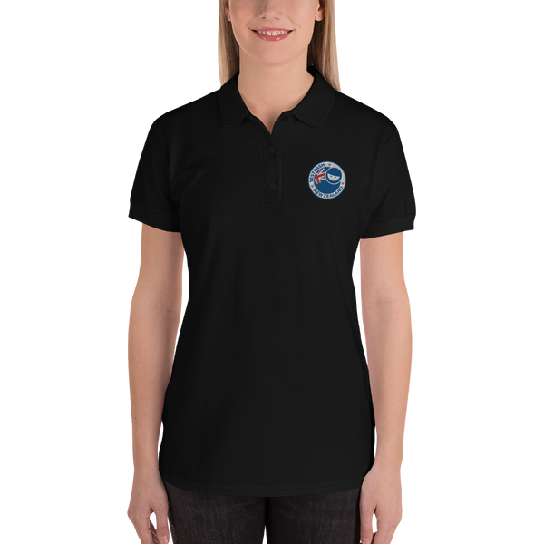 Black Polo Shirt - TestBash New Zealand - Women's