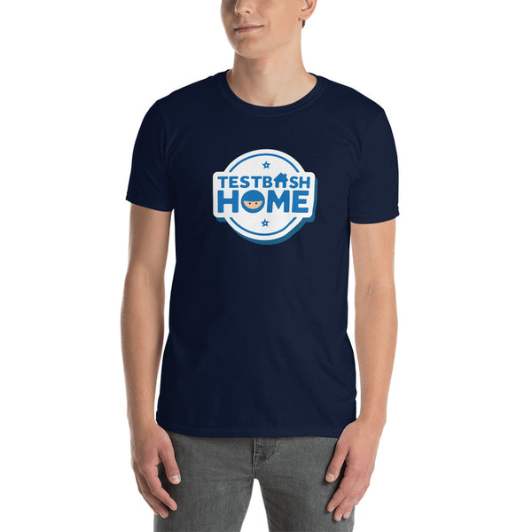 T-Shirt - TestBash Home - Unisex - Navy
